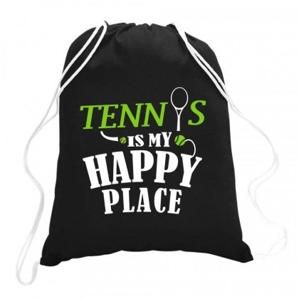 Tennis Heartbeat Drawstring Bags Designed By Hoainv