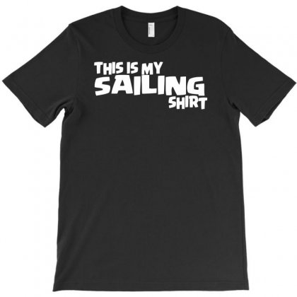 This Is My Sailing T-shirt Designed By Milamaftah