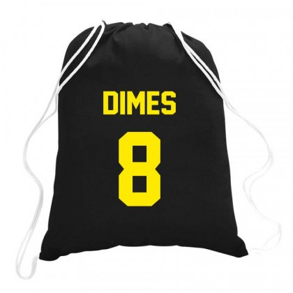 Danny Dimes New York Drawstring Bags Designed By Hose White