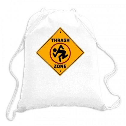Trash Zone Drawstring Bags Designed By Milamaftah