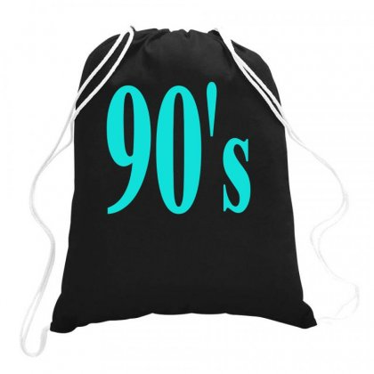 90's Drawstring Bags Designed By S4bilal