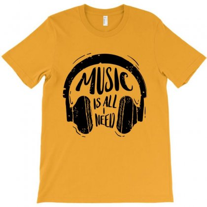 Music T-shirt Designed By Designisfun