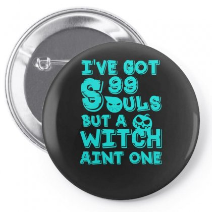99 Souls Pin-back Button Designed By S4bilal
