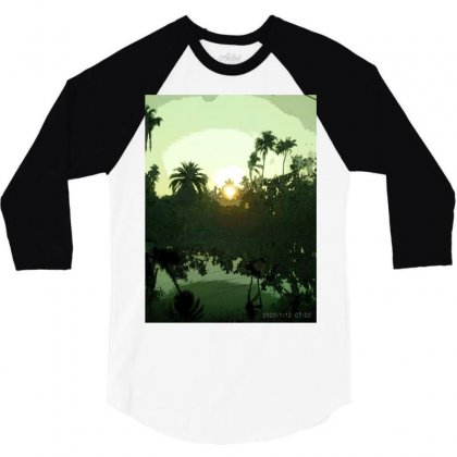 Land Scape 3/4 Sleeve Shirt Designed By Achintya