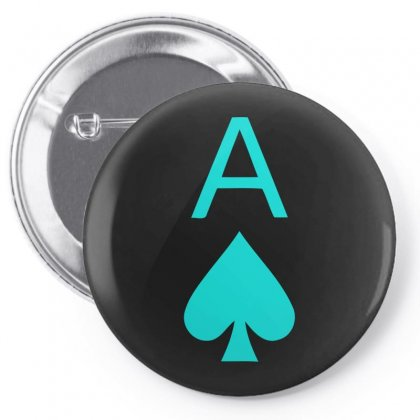 Ace Of Spades Pin-back Button Designed By S4bilal