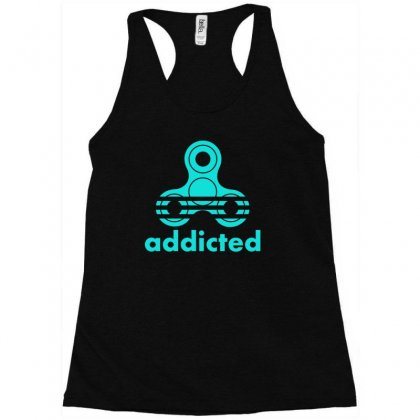 Addicted Racerback Tank Designed By S4bilal