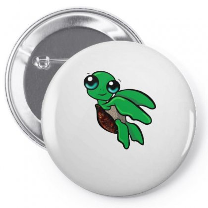 Funky Turtle Pin-back Button Designed By Hoainv