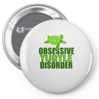 Funny Obsessive Turtle Disorder Pin-back Button Designed By Hoainv