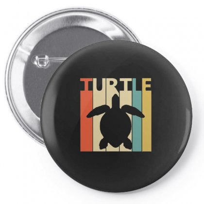 Funny Turtle Spirit Animal Retro Vintage Pin-back Button Designed By Hoainv