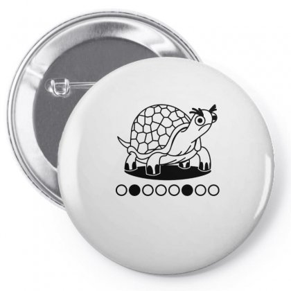 Grumpy Tortoise Pin-back Button Designed By Hoainv