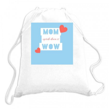 Mom Drawstring Bags Designed By Vj575789