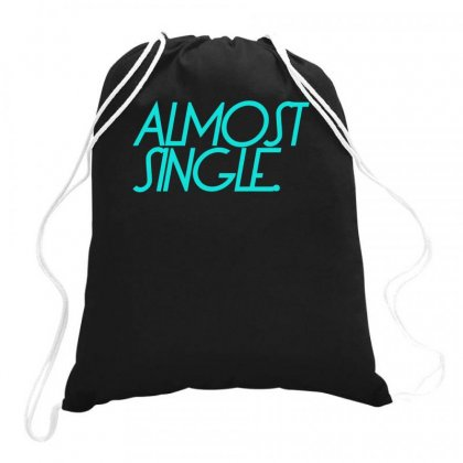 Almost Single Divorce Drawstring Bags Designed By S4bilal