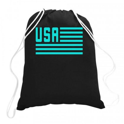 American Flag 4th Of July Independence Day Drawstring Bags Designed By S4bilal