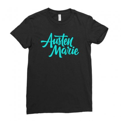 Austen Marie Ladies Fitted T-shirt Designed By S4bilal