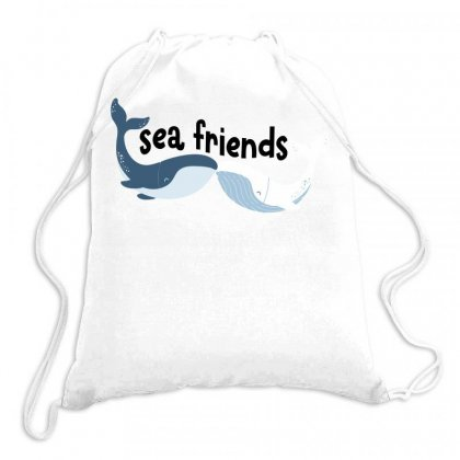 Sea Friends For Light Drawstring Bags Designed By Gurkan