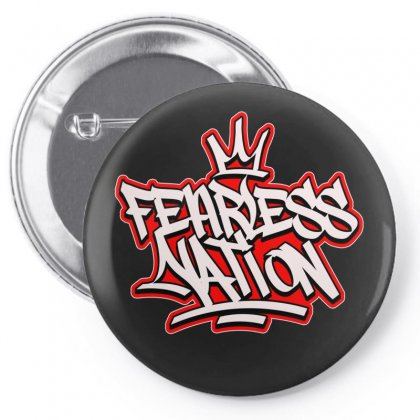 Fearless Nation Pin-back Button Designed By Tiococacola