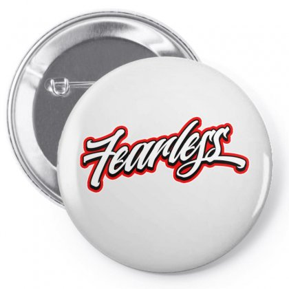 Fearless Licence Plate Pin-back Button Designed By Tiococacola