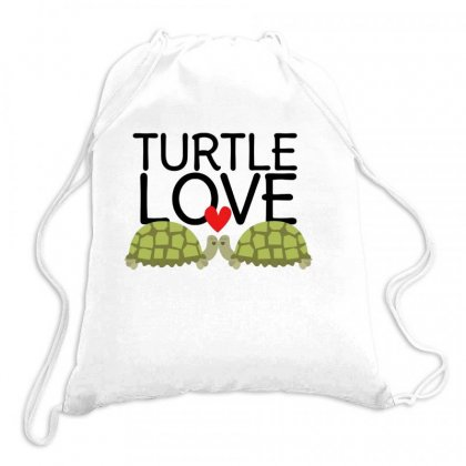 Turtle Love Drawstring Bags Designed By Hoainv