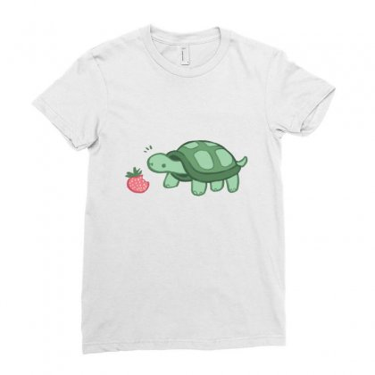 Turtle Ladies Fitted T-shirt Designed By Hoainv