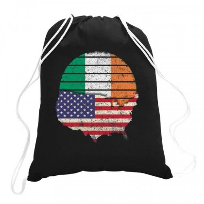 Irish American Pride Drawstring Bags Designed By Kakashop
