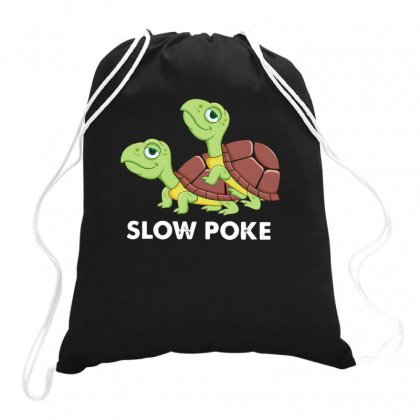Slow Poke Drawstring Bags Designed By Disgus_thing