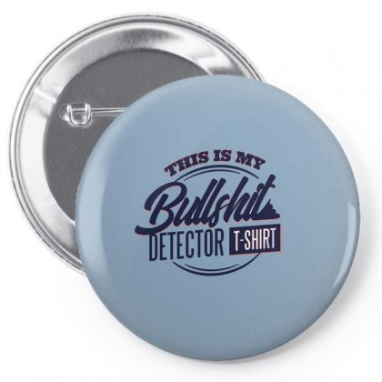 Detector Tshirt Pin-back Button Designed By Disgus_thing