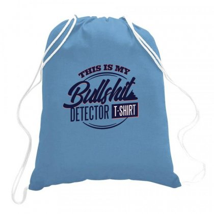 Detector Tshirt Drawstring Bags Designed By Disgus_thing