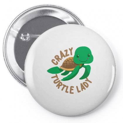 Crazy Turtle Lady Pin-back Button Designed By Hoainv