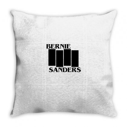 Bernie Throw Pillow Designed By Disgus_thing