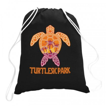 Funny Turtlepark Drawstring Bags Designed By Hoainv