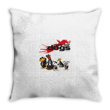 Dogs Throw Pillow Designed By Disgus_thing