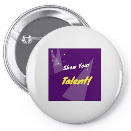 Talent Pin-back Button Designed By Vj575789