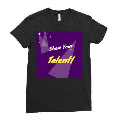 Talent Ladies Fitted T-shirt Designed By Vj575789