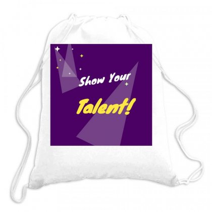 Talent Drawstring Bags Designed By Vj575789