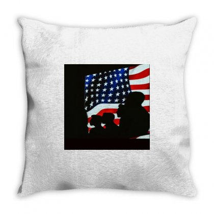 Love Usa Throw Pillow Designed By Vj575789