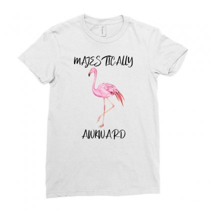 Majestically Awkward Ladies Fitted T-shirt Designed By Bettercallsaul