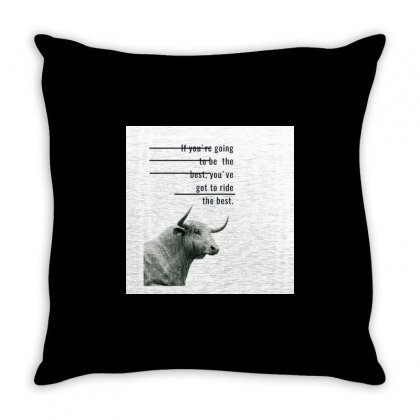 Ride Throw Pillow Designed By Vj575789