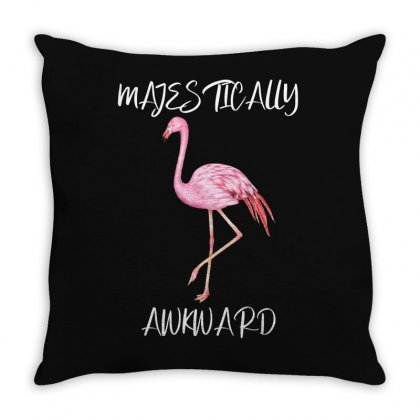 Majestically Awkward Throw Pillow Designed By Bettercallsaul