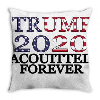 Acquitted Forever Throw Pillow Designed By Bettercallsaul