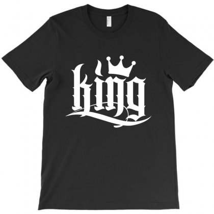 King License Plate T-shirt Designed By Tiococacola