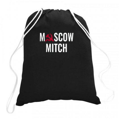 Moscow Drawstring Bags Designed By Disgus_thing