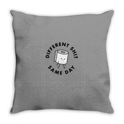 Same Day Throw Pillow Designed By Disgus_thing