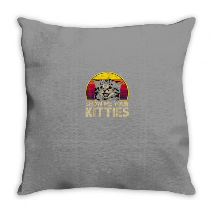 Kitties Throw Pillow Designed By Disgus_thing