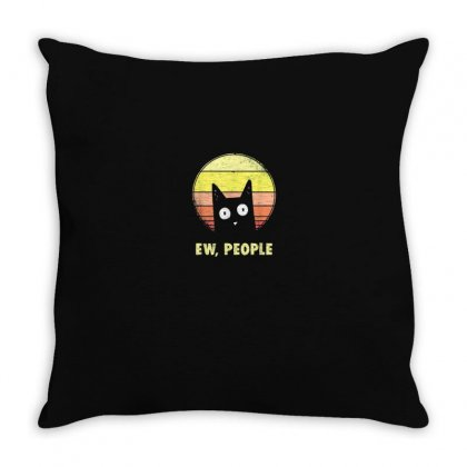 Ew People Throw Pillow Designed By Disgus_thing