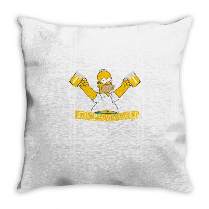 Homer Throw Pillow Designed By Disgus_thing