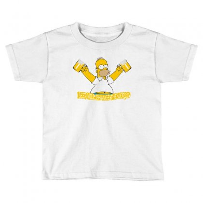 Homer Toddler T-shirt Designed By Disgus_thing