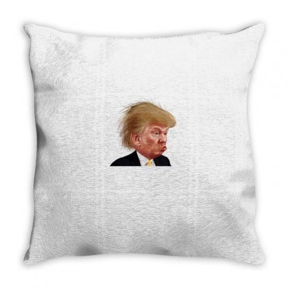 Trump Throw Pillow Designed By Disgus_thing