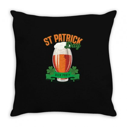 Beer Party Throw Pillow Designed By Vanshop99