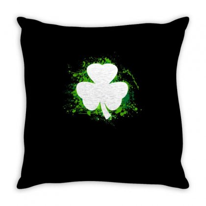Clover Throw Pillow Designed By Vanshop99