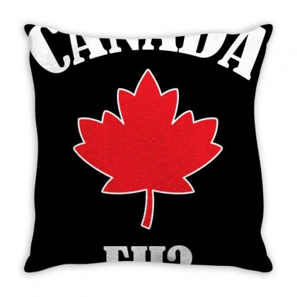 Funny Canadian Eh Throw Pillow Designed By Jetstar99
